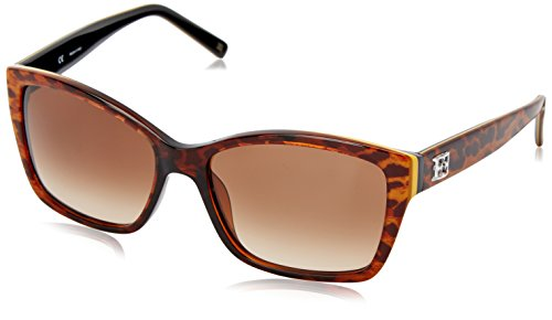 Escada-Sunglasses-Womens-SES307M-0AFT-Rectangular-Sunglasses-Panther