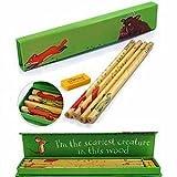 The Gruffalo - Triangular Writing Pencils & Eraser