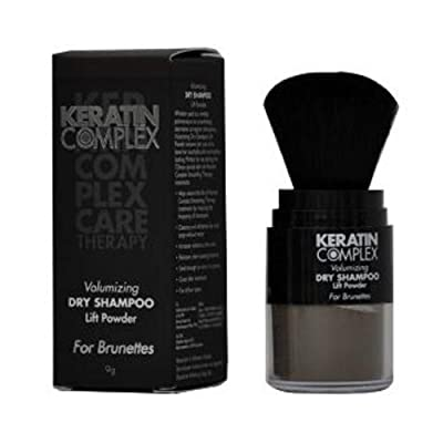 Keratin Complex Volumizing Dry Shampoo Lift Powder Brunettes for Unisex, 0.31 Ounce