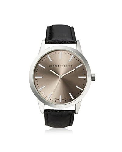 Geoffrey Beene Men's GB8008GY Black/Gray Stainless Steel Watch
