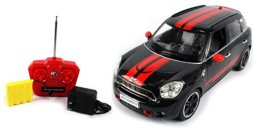 Licensed Mini J. Cooper Works Countryman Electric Rc Car 1:14 Rtr (Colors May Vary) (Comes With A Free Velocity Toys Decal)