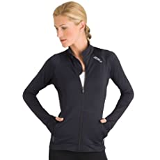 2XU Women's Light Run Jacket, Black, X-Large