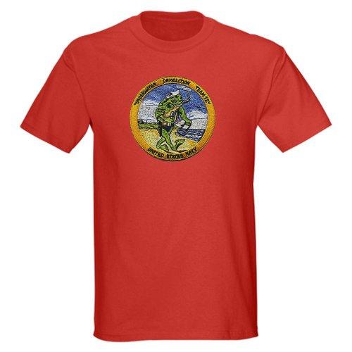 CafePress UDT 12 Military Dark T-Shirt - L Red