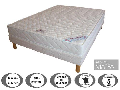ensemble matelas sommier 200x200 pas cher. Black Bedroom Furniture Sets. Home Design Ideas