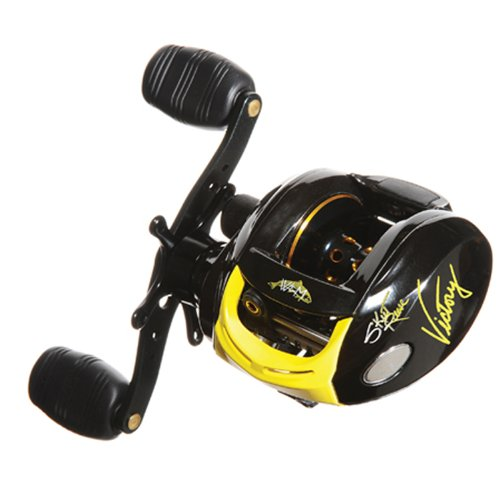 Wright & McGill Skeet Reese Left Hand 701 Retrieve Victory Bait Cast Reel (Yellow)