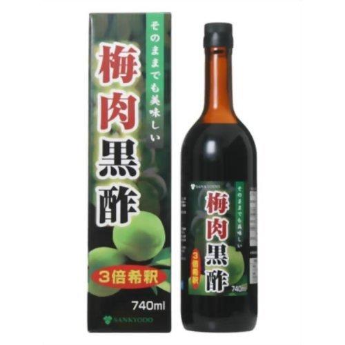 ユーワ 梅肉黒酢 740ml