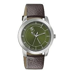 Sonata Analog Green Dial Men's Watch-7924SL09