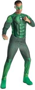 Rubie's Deluxe Lite Up Hal Jordan Fancy Dress (XL)