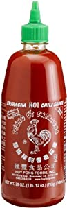 Huy Fong Sriracha Hot Chili Sauce 28-ounce Bottles Pack Of 3 by Huy Fong