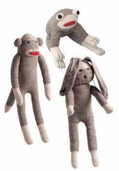 Multipet International Multipet Sock Pals Rabbit Dog Toy, 10-Inch
