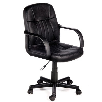 Mid Back Leather Office Chair ILA093