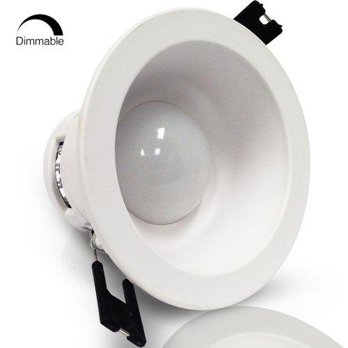 Ac90-150V 3Watt Dimmable Led Recessed Lighting Fixtures - 3000K Warm White Led Ceiling Light (Built-In Driver)