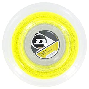 Buy Dunlop Sports 200M 660' Reel S Gut Tennis String by Dunlop Sports