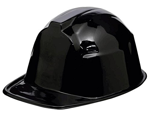 Black Construction Hats