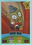 Moshi Monsters Series 3 Code Breakers No. 216 MINI BEN - Rainbow Foil Individual Trading Card