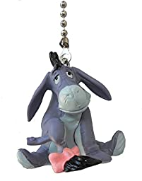 Disney Classic Disney movie Winnie The Pooh storybook assorted Character Ceiling FAN PULL light chain (Eyeore)