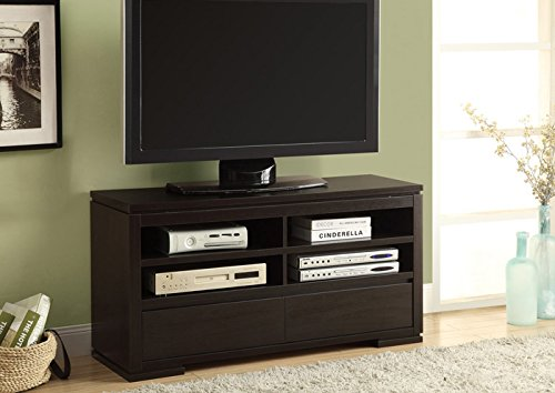 """CAPPUCCINO 48""""L TV CONSOLE WITH 2 DRAWERS (SIZE: 48L X 18W X 24H)"""