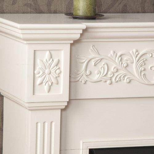 SEI Calvert Gel Fuel Fireplace, Ivory
