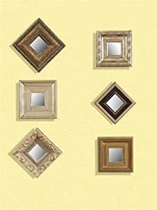 Amazon.com - Bassett Mirror Company Set Of 6 Decorative ...