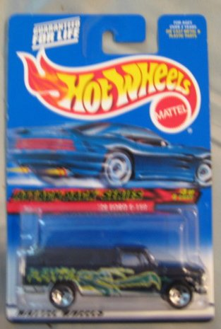 2000 Hot Wheels Attack Pack Series 3/4 '79 Ford F-150 BLACK 023 1:64 Scale - 1