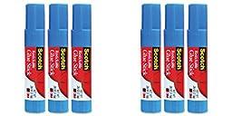Scotch Restickable Glue Stick, 3-Pack (6307-3), 2 Packs