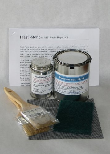 Plasti-Mend ABS Plastic Repair Kit for Holding Tank Repair