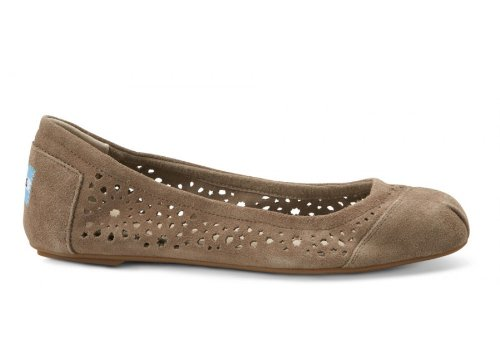 Toms - Womens Ballet Flats In Taupe Moroccan
