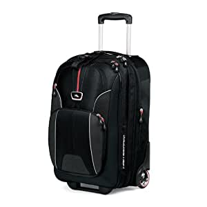 High Sierra Carry-On Wheeled Business Upright in Black