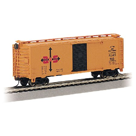 N RTR SS 40' Box, Alton & Southern - Buy N RTR SS 40' Box, Alton & Southern - Purchase N RTR SS 40' Box, Alton & Southern (Bachmann Industries, Toys & Games,Categories,Play Vehicles,Trains & Railway Sets)