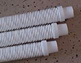 Kreepy Krauly Swimming Pool Cleaner (ONE) Replacement Hoses by Pool Style - White