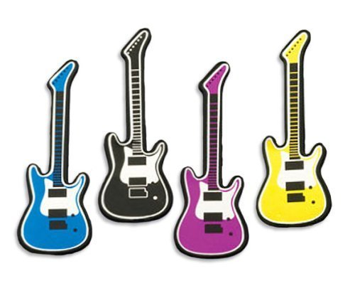 Mini Guitar Cake Decorating Toppers
