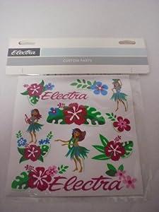 Electra Hula Bicycle Sticker Set (Pink)