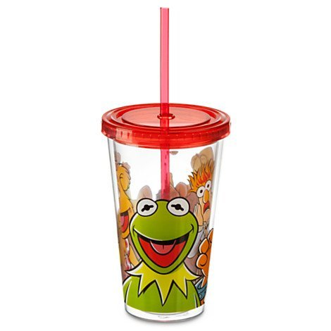 The Muppets Tumbler With Straw