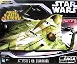 Star Wars Saga Collection Kit Fisto's Jedi Starfighter Vehicle