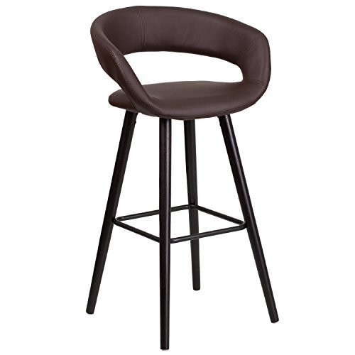 flash-furniture-ch-152560-brn-vy-gg-brynn-series-high-contemporary-brown-vinyl-barstool-with-cappucc