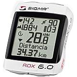 Sigma Sport Fahrrad Computer Rox 6.0, weiß, 06170