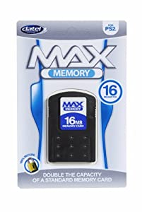 Datel Max Memory 16mb Ps2 from Datel Direct Ltd