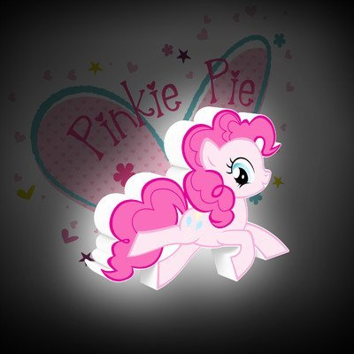 3D-Light-FX-My-Little-Pony-Pinkie-Pie-3D-Deco-Mini-Sized-LED-Wall-Light