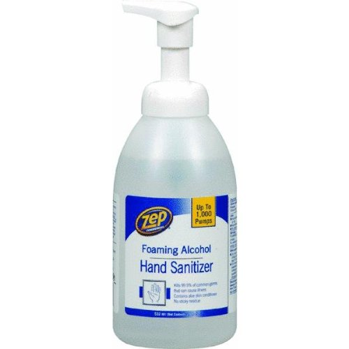 msds hand cleaner: Buy Enforcer ZUFHS18 18-Ounce Zep Alcohol