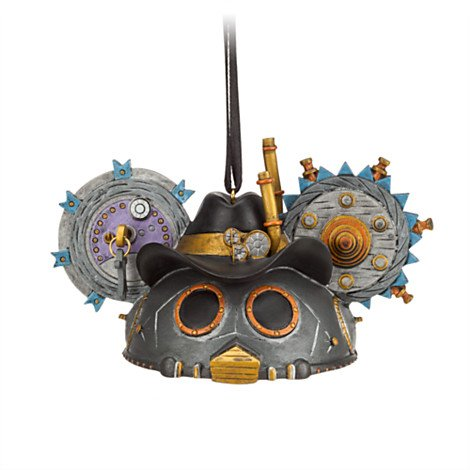 Disney Steampunk Ear Hat Limited Edition Ornament - Cowboy