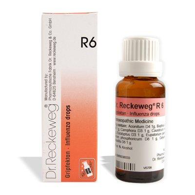 Dr.RECKEWEG Dr.Reckeweg GermanyR6 Influenza Drops