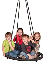 Web Riderz Children's Web Swing, Black