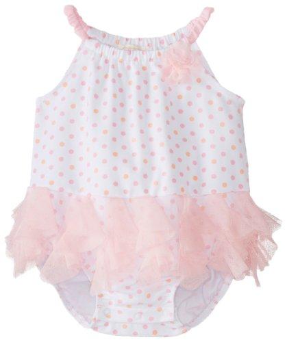 Biscotti Baby-Girls Newborn Little Cirque Bodysuit, Pink, New Born