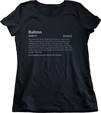 KAILYNN IS AN AWESOME CHICK T-shirt for Cool Girls Named Kailynn Ladies' T-shirt-X-Small