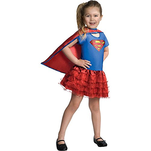 Supergirl Tutu Kids Costume - Small