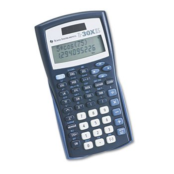 * TI-30X IIS Scientific Calculator, 10-Digit LCD office electronic graphic calculator counter scientific calculator support image matrix vector sequence equation calculating