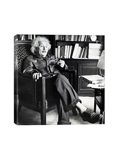 Retro Images Dr. Albert Einstein #3 Archive Gallery-Wrapped Canvas Print