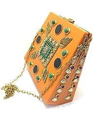 Nakkashee Rajasthan Latest Handcrafted Designer Different Stone Sling Bags