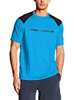 Under Armour Camiseta Técnica Exclusive Loose Tee (Azul Royal / Negro)