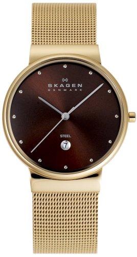 SKAGEN (スカーゲン) 腕時計 basic steel mens J355LGGD1 ケース幅: 34mm メンズ 日本限定カラー [正規輸入品]